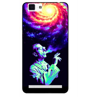 Snooky Printed Universe Mobile Back Cover For Vivo X5 Max - Multi