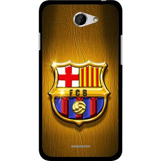 Snooky Printed FootBall Club Mobile Back Cover For HTC Desire 516 - Multicolour