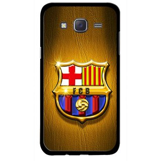 Snooky Printed FootBall Club Mobile Back Cover For Samsung Galaxy J5 - Multicolour