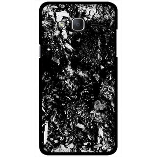 Snooky Printed Rocky Mobile Back Cover For Samsung Galaxy On5 - Black