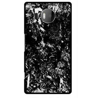 Snooky Printed Rocky Mobile Back Cover For Microsoft Lumia 950 XL - Black