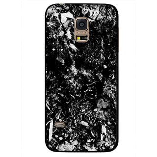Snooky Printed Rocky Mobile Back Cover For Samsung Galaxy S5 Mini - Black