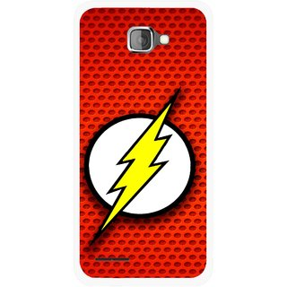 Snooky Printed Dont Touch Mobile Back Cover For Micromax Canvas Mad A94 - Multicolour