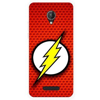 Snooky Printed Dont Touch Mobile Back Cover For Micromax Canvas Spark Q380 - Multicolour