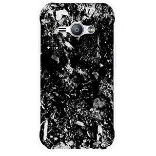 Snooky Printed Rocky Mobile Back Cover For Samsung Galaxy Ace J1 - Black