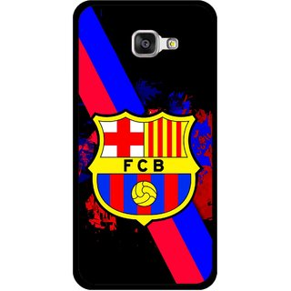 Snooky Printed Football Club Mobile Back Cover For Samsung Galaxy A5 2016 - Black