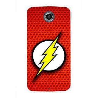 Snooky Printed Dont Touch Mobile Back Cover For Motorola Nexus 6 - Multicolour