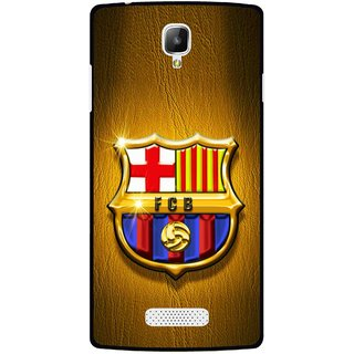 Snooky Printed FootBall Club Mobile Back Cover For Oppo Neo 3 R831k - Multicolour
