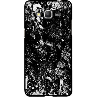 Snooky Printed Rocky Mobile Back Cover For Samsung Galaxy Grand Max - Black