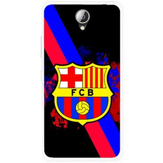 Snooky Printed Football Club Mobile Back Cover For Lenovo A5000 - Black