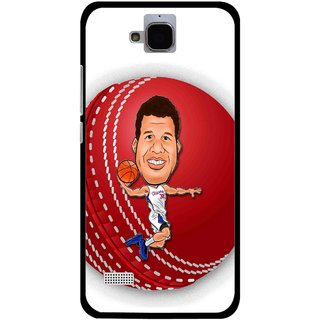Snooky Printed Cricket Club Mobile Back Cover For Huawei Honor Holly - White