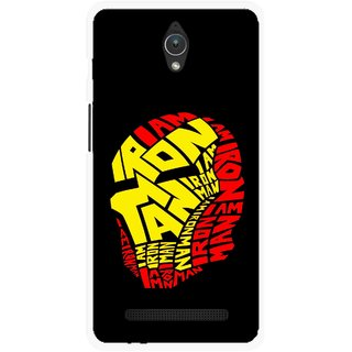 Snooky Printed I am Man Mobile Back Cover For Asus Zenfone C - Multicolour