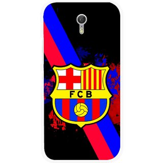 Snooky Printed Football Club Mobile Back Cover For Lenovo Zuk Z1 - Black