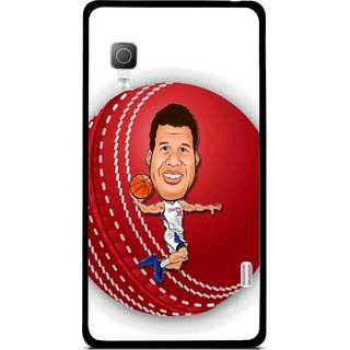 Snooky Printed Cricket Club Mobile Back Cover For Lg Optimus L5II E455 - White