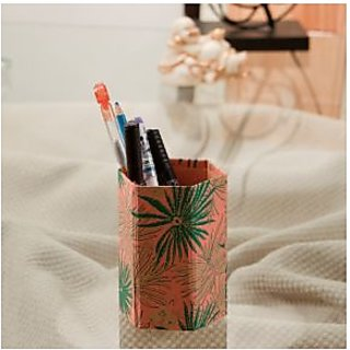 Recycled Handmade Paper Pen Holder02