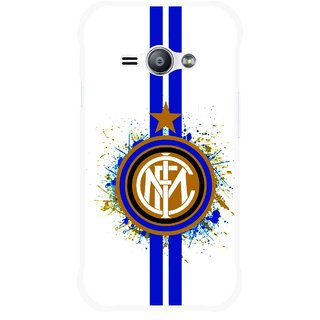Snooky Printed Sports Lovers Mobile Back Cover For Samsung Galaxy Ace J1 - White