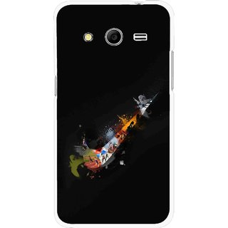 Snooky Printed All is Right Mobile Back Cover For Samsung Galaxy G355 - Multicolour