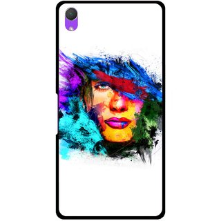 Snooky Printed Dashing Girl Mobile Back Cover For Sony Xperia Z2 - Multi