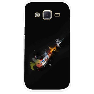 Snooky Printed All is Right Mobile Back Cover For Samsung Galaxy j2 - Multicolour