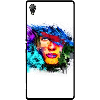 Snooky Printed Dashing Girl Mobile Back Cover For Sony Xperia Z3 - Multi