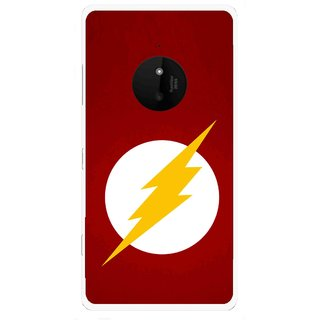 Snooky Printed High Voltage Mobile Back Cover For Microsoft Lumia 830 - Multi