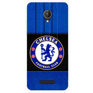 Snooky Printed FootBall Club Mobile Back Cover For Micromax Canvas Spark Q380 - Multicolour