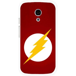 Snooky Printed High Voltage Mobile Back Cover For Moto G2 - Multi