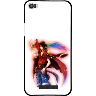 Snooky Printed Free Mind Mobile Back Cover For Lava Iris X8 - Multi