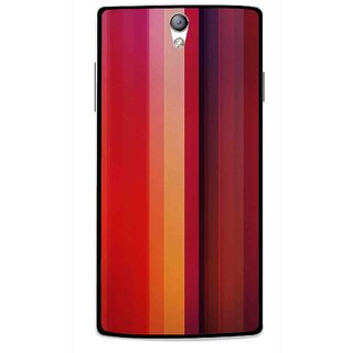 Snooky Printed Colorfull Stripes Mobile Back Cover For Oppo Find 5 Mini - Multi