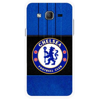 Snooky Printed FootBall Club Mobile Back Cover For Samsung Galaxy On5 - Multicolour