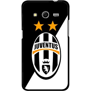 Snooky Printed Football Club Mobile Back Cover For Samsung Galaxy G355 - Black