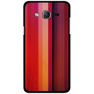 Snooky Printed Colorfull Stripes Mobile Back Cover For Samsung Galaxy On5 - Multi