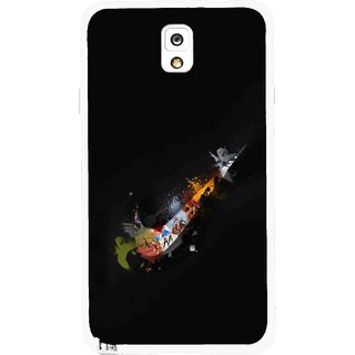 Snooky Printed All is Right Mobile Back Cover For Samsung Galaxy Note 3 - Multicolour