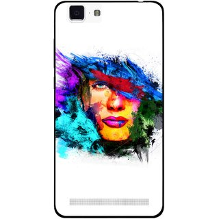 Snooky Printed Dashing Girl Mobile Back Cover For Vivo X5 Max - Multi