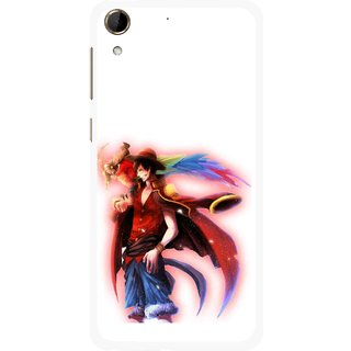 Snooky Printed Free Mind Mobile Back Cover For HTC Desire 728 - Multi