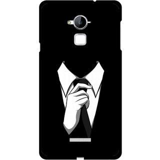 Snooky Printed White Collar Mobile Back Cover For Coolpad Note 3 - Multi