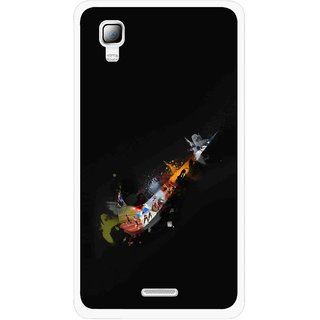 Snooky Printed All is Right Mobile Back Cover For Micromax Canvas Doodle 3 A102 - Multicolour