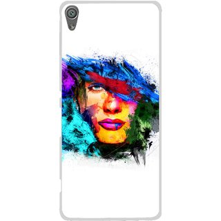 Snooky Printed Dashing Girl Mobile Back Cover For Sony Xperia XA1 - Multi