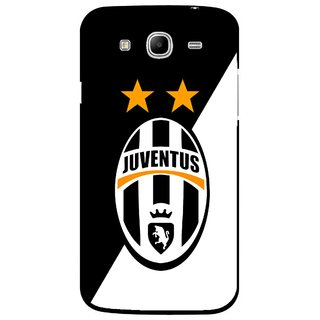 Snooky Printed Football Club Mobile Back Cover For Samsung Galaxy Mega 5.8 - Black