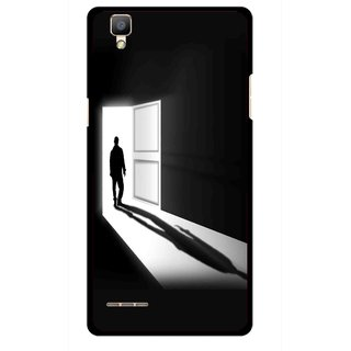 Snooky Printed Night Out Mobile Back Cover For Oppo F1 - Multi