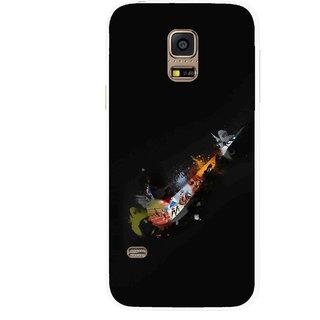Snooky Printed All is Right Mobile Back Cover For Samsung Galaxy S5 Mini - Multicolour
