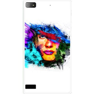 Snooky Printed Dashing Girl Mobile Back Cover For Blackberry Z3 - Multi