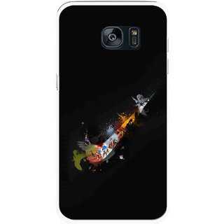 Snooky Printed All is Right Mobile Back Cover For Samsung Galaxy S7 - Multicolour