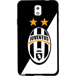 Snooky Printed Football Club Mobile Back Cover For Samsung Galaxy Note 3 - Black
