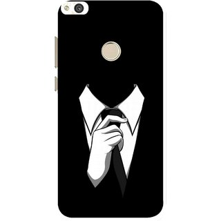Snooky Printed White Collar Mobile Back Cover For Huawei P8 Lite (2017) - Multi