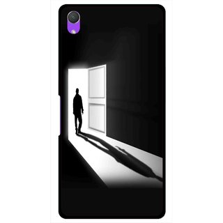 Snooky Printed Night Out Mobile Back Cover For Sony Xperia Z2 - Multi