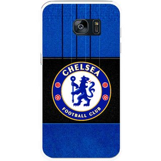 Snooky Printed FootBall Club Mobile Back Cover For Samsung Galaxy S7 - Multicolour