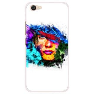 Snooky Printed Dashing Girl Mobile Back Cover For Vivo V5 Plus - Multi