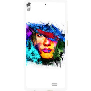 Snooky Printed Dashing Girl Mobile Back Cover For Gionee Elife S5.1 - Multi