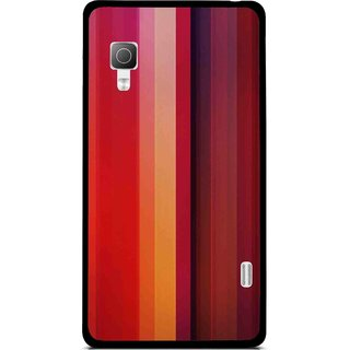 Snooky Printed Colorfull Stripes Mobile Back Cover For Lg Optimus L5II E455 - Multi